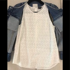 Theory top (shorts and jean jacket also for sale)